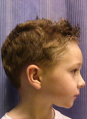 Spikey Boy Cut