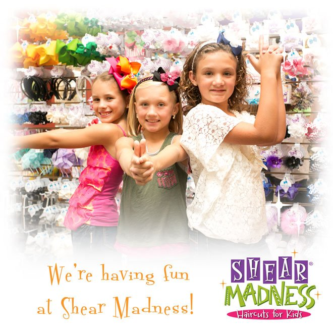 Shear Madness Haircuts for Kids,Kids in a Kids Salon,Kids Boutique