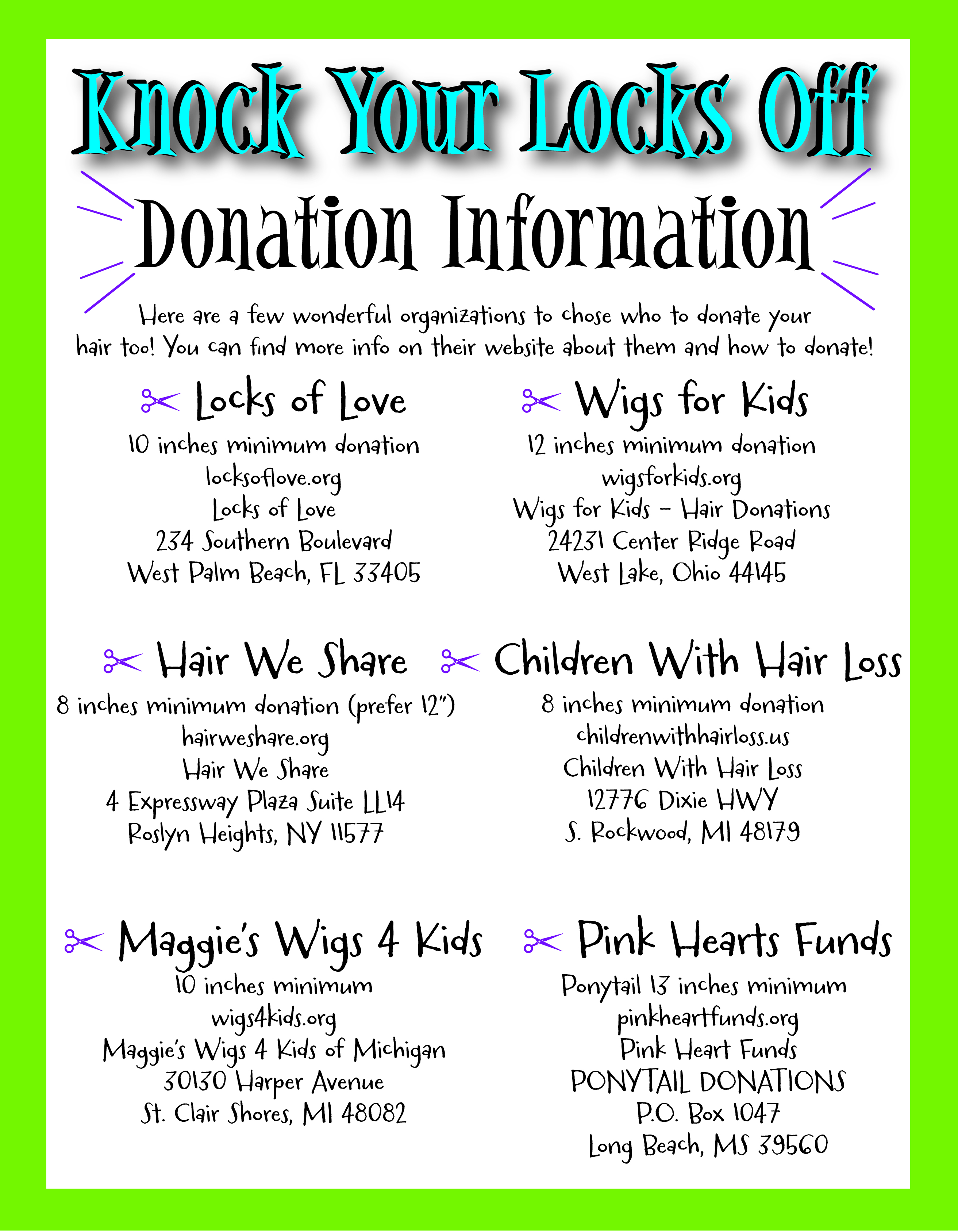 Knock Your Locks off Donation Flyer-01